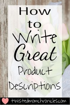 handmade business How to Write Great Product Descriptions in Etsy to Increase Your Rank in Search and get your products found Etsy Business, Craft Business, Creative Business, Business Tips, Business Planning, Online Business, Business Notes, Strategy Business, Business Products
