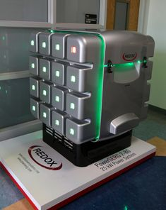 The-Cube - Fuel Cell that is 1/10 the cost, and 1/10 the size of those previously available.