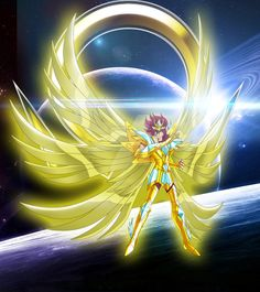 Pegasus Koga Super Omega Cloth. Burning Cosmo by JohnnyNoise.deviantart.com on @DeviantArt