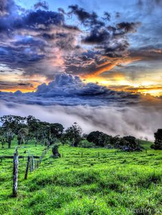 Today's Featured Artist!: Costa Rican Countryside by Miami artist Daniel Blank.