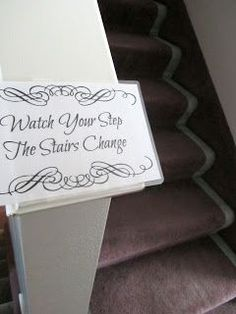 Mind Your Step