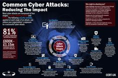 Common Cyber Attacks Infographic