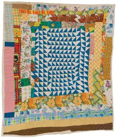 Gee's Bend is a community on the curve of the river Alabama River, and home of a historical quilting bee.
