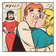 Veronica, Betty and Archie Archie Und Betty, Archie Betty And Veronica, Archie Comics Riverdale, Comics Und Cartoons, Archie Comic Books, Josie And The Pussycats, Romance Comics, Favorite Cartoon Character, Comic Panels