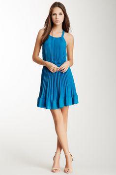 REbecca Taylor :Sleeveless Pleated Dress: love the back!
