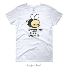 5f4d7e2d Funny Shirt with Super Cute Bumble Bee | Kawaii Clothing | Pun T-Shirt