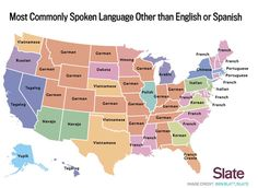 Most Common Language By State Besides English or Spanish. I knew there was a reason I chose German.