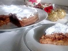 Ricetta Crostata con farina di castagne, pere e cioccolato