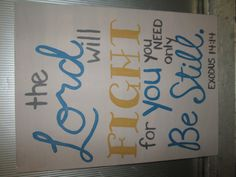 Original Art Canvas Painting Bible Verse by AuntBeccaDesigns, $20.00