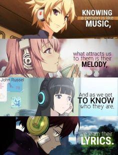 Anime Quotes Geek - Anime quotes , anime zitate , citations d'anime , citas de anime , anime drawi - Otaku Anime, Anime Manga, Anime Art, Anime Wolf, Sad Anime Quotes, Manga Quotes, Anime Quotes About Love, Anime Triste, Anime Eyes
