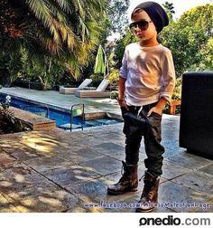 Loving the mini Justin Bieber style