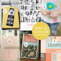 6 simple handmade gift ideas for Mother's Day.