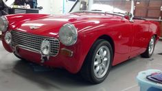 AutoTrader Classics - 1964 Austin-Healey Sprite MKII Convertible Red 4 Cylinder Manual 2 wheel drive | Import Classics | GLENDORA, CA