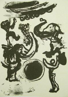 La Edad de la Muerte (VII). Litografía, 23 x 15,5 cm. mancha, 31,5 x 23 cm. soporte. 60 €.