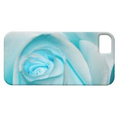 #Turquoise Ice Rose #iPhone 5 Cover $44.95