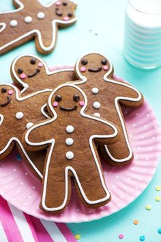 Gingerbread Cookies from Sweetapolita Christmas Treats, Christmas Baking, Christmas Cookies, Holiday Baking, Soft Gingerbread Cookies, Gingerbread Man, Best Holiday Cookies, Holiday Fun, Ginger Bread Cookies Recipe