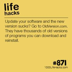 Improve your life one hack at a time. 1000 Life Hacks, DIYs, tips, tricks and More. Start living life to the fullest! Hacking Websites, Life Hacks Websites, 1000 Life Hacks, Technology Hacks, Computer Technology, Business Technology, Simple Life Hacks, Useful Life Hacks, Computer Help
