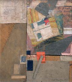 Kurt Schwitters: YMCA Flag, 1947 - Paper collage