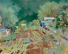 The Vegetable Garden, Paul Banning RI RSMA