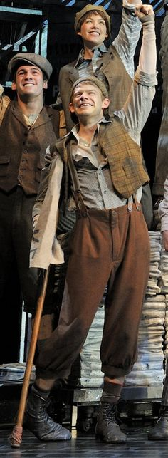 Newsies. Crutchy is my fave. andrew keenan bolger <3