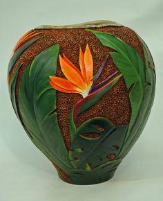 Gourd Art by Gloria Crane                                                                                                                                                      More