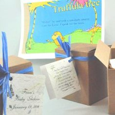 The Lorax Baby Shower - Plant a Tree for the Baby to Be!  adorable