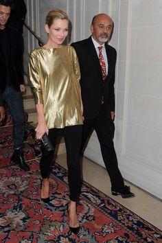 Fred Mücevher Lansmanı için Kate Moss - Paris Moda Haftası İlkbahar / Yaz 2012