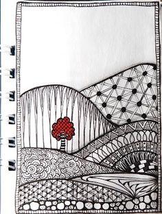 zentangle by EvieBee