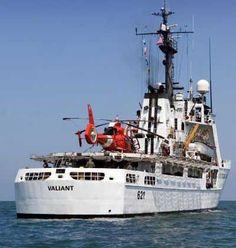 CG Cutter Valiant | United States Coast Guard Cutter Valiant (WMEC 621) on patrol in the ...