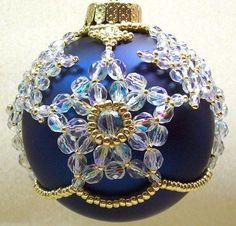 Christamas Star Ornament Cover: Beading Tutorial $5.00