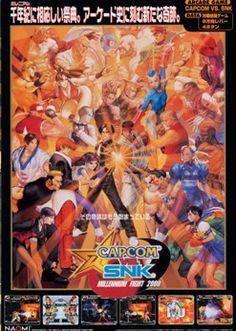 Capcom vs. SNK: Millennium Fight 2000 (Capcom), Wii U Virtual Console