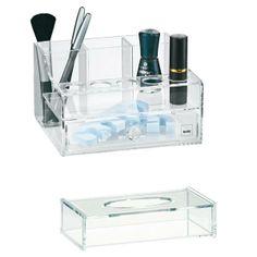 #cosmeticbox Melina, #portafazzoletti Clear