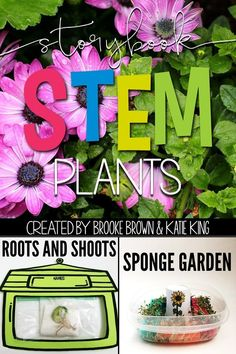 Plants STEM Challenges, Language Arts Components, and Science Activities to match favorite picture books | Elementary STEM Activities