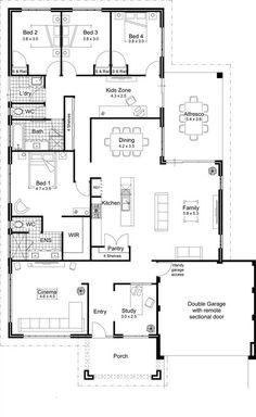 Picture Design Idea Of Open Floor Plan House Designs Finished With Best Design A Floor Plan