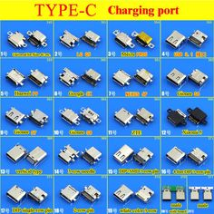 Online Shop 23 model High speed data interface micro usb DIY Type-C USB Type C mother Socket Connector Charge Dock port Plug Iphone Repair, Mobile Phone Repair, Arduino, Electrical Circuit Diagram, Electronics Basics, Electrical Projects, Cell Phone Plans, All Mobile Phones, Free To Use Images