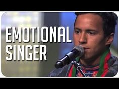 (24) Jon Henrik's emotional & powerful original song pulls heartstrings on Sweden's Got Talent - YouTube