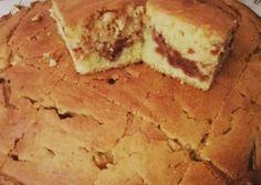 Κέικ με γέμιση μαρμελάδα συνταγή από Mary's kitchen🍴 - Cookpad Cooking Cake, Cooking Recipes, Brownie Cake, Sweet And Salty, Dessert Recipes, Desserts, Cornbread, Banana Bread, Food To Make