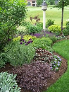 Designing a landscape for your front yard will greatly differ from the backyard, because they serve two completely different functions. The front yard is where people come in and leave; Front House Landscaping, Backyard Fences, Backyard Landscaping, Backyard Ideas, Garden Ideas, Landscaping Design, Patio Design, Landscaping Borders, Backyard Beach
