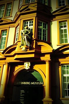 Gutenberg Museum / Mainz, Germany / They have the oldest bibles in the world here.