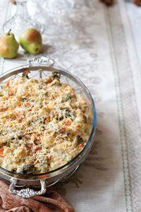 scalloped vegetable casserole
