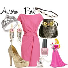 """Disney Aurora"" by sophiedee11 on Polyvore"