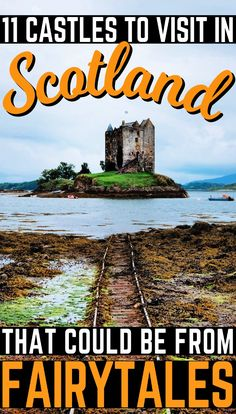 Scotland that simply ooze history. These 11 Scottish castles will make for a great day out during your Scotland vacation!in Scotland that simply ooze history. These 11 Scottish castles will make for a great day out during your Scotland vacation! English Castles, Scottish Castles, Scotland Vacation, Scotland Travel, Scotland Trip, Highlands Scotland, Skye Scotland, Places To Travel, Places To See
