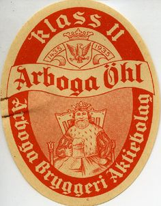 Arboga Öhl #Arboga #öhl #olut #beer