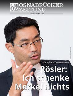 Kurz vor der Wahl stand uns Bundeswirtschaftsminister und FDP-Chef Philipp Rösler in unserer aktuellen iPad-Ausgabe Rede und Antwort.