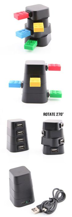 Revolving Tower USB Hub http://www.usbgeek.com/products/revolving-tower-hub