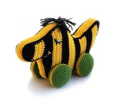 Crochet pattern Tiger duck (Tigerente) - amigurumi - instant download pdf, €3.95 - Tigerente häkeln, Häkelanleitung, gehäkelt