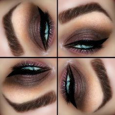 Burgundy Smokey Eye by Molly A