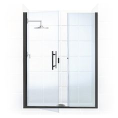 Coastal Shower Doors Illusion Series 61-In To 62.25-In Frameless Hinge