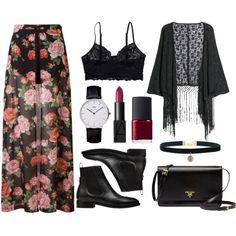 Floral and Fringe