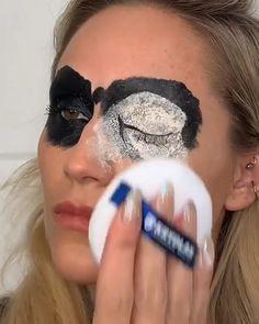 makeup videos Amazing by the_wigs_and_makeup_manager Makeup Fx, Makeup Geek, Flawless Makeup, Demon Makeup, Prom Makeup, Wedding Makeup, Creative Makeup Looks, Simple Makeup, Unique Makeup